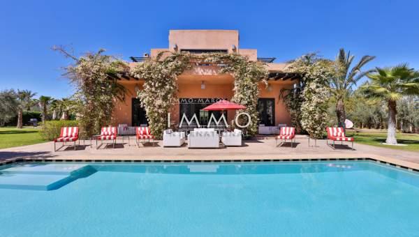 Villa à vendre Contemporain immobilier luxe à vendre marrakech Marrakech Extérieur