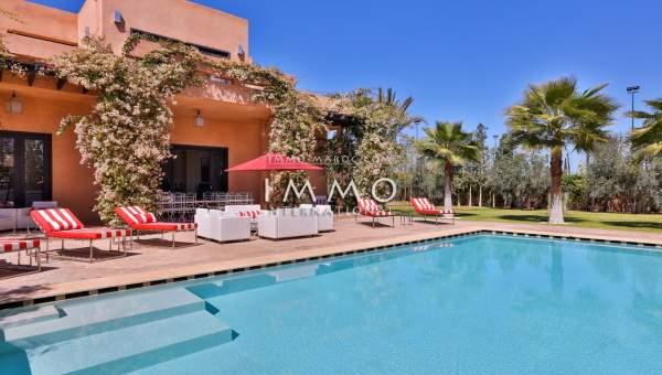 villa achat Moderne prestige a vendre Marrakech Extérieur