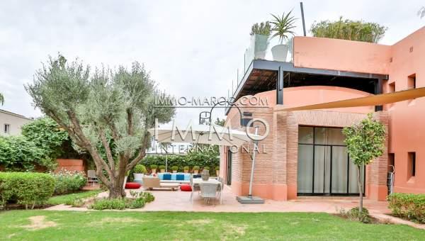 Maison à vendre Marocain épuré Marrakech Golfs Amelkis