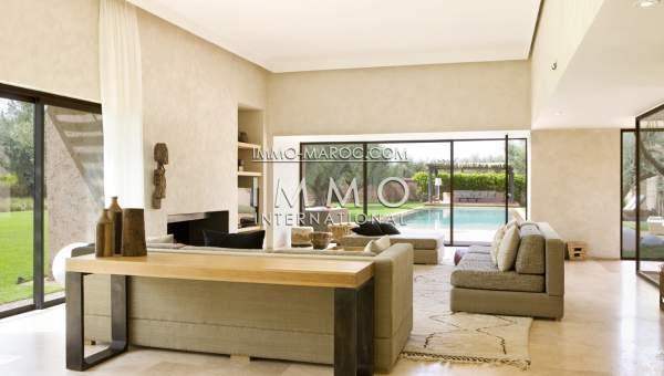 Maison à vendre Contemporain haut de gamme Marrakech Golfs