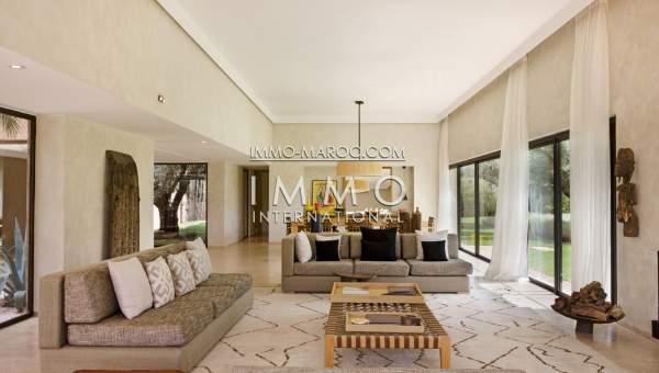 Villa à vendre Moderne haut de gamme Marrakech Golfs
