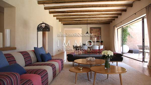 Achat villa Contemporain haut de gamme Marrakech Golfs