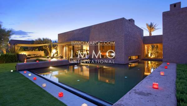 Achat villa Contemporain Prestige Marrakech Golfs