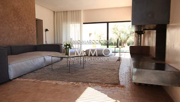 Vente villa Contemporain haut de gamme Marrakech Golfs