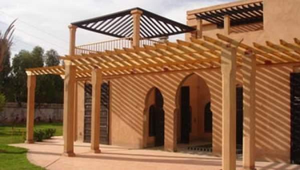 Achat villa Marocain Marrakech Extérieur Route Fes