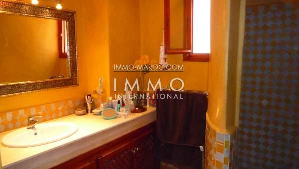 Vente maison Marocain Marrakech Palmeraie