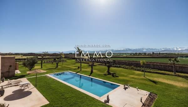 villa achat Moderne prestige Marrakech Extérieur Route Amizmiz