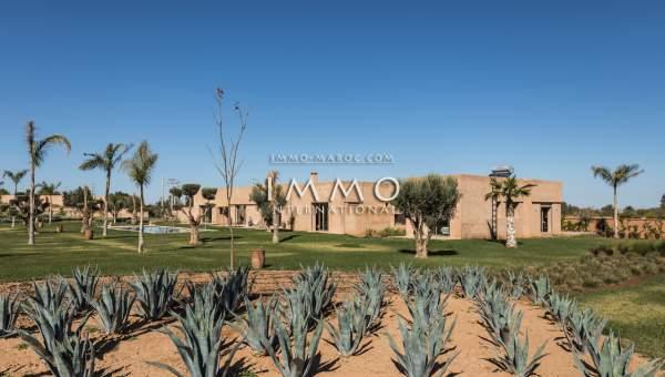 Vente maison Moderne propriete luxe marrakech à vendre Marrakech Extérieur Route Amizmiz