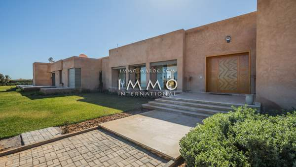 villa vente Contemporain prestige Marrakech Extérieur Route Amizmiz