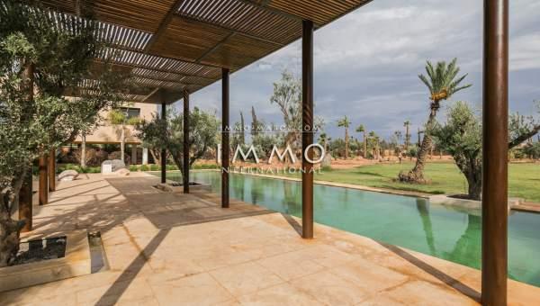 villa vente Marocain épuré propriete luxe marrakech à vendre Marrakech Palmeraie
