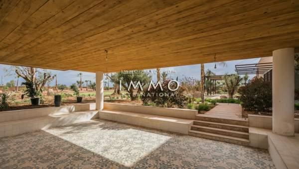 villa vente Marocain épuré biens de prestige marrakech Marrakech Palmeraie
