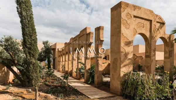 Achat villa Marocain épuré luxe Marrakech Palmeraie