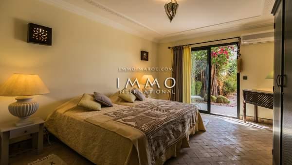 Villa à vendre Marocain Marrakech Golfs Amelkis