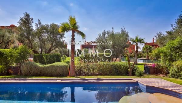 acheter maison Moderne Marrakech Palmeraie Bab Atlas