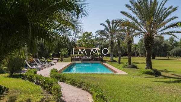 acheter maison Marocain épuré biens de prestige Marrakech Extérieur Route Ourika