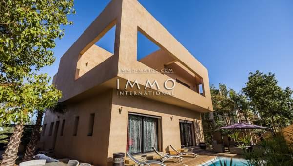 villa achat Contemporain Marrakech Golfs Amelkis