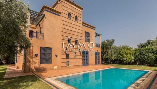 Achat villa Marocain Marrakech Extérieur Route Ourika