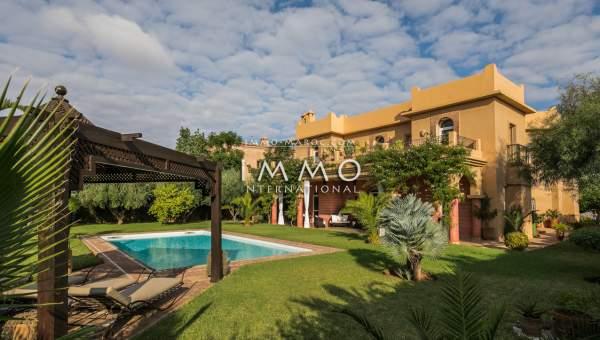 acheter maison Marocain biens de prestige Marrakech Golfs Amelkis