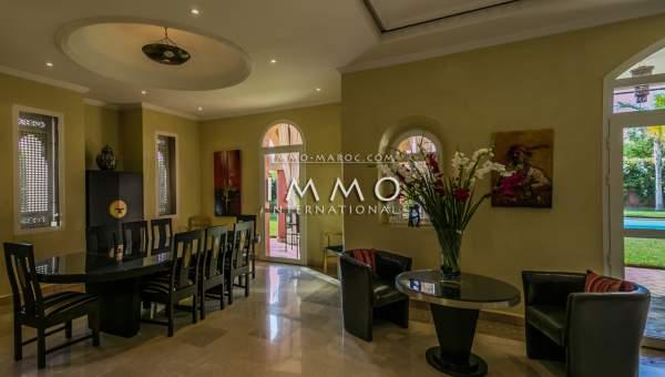 Maison à vendre Marocain de prestige Marrakech Golfs Amelkis