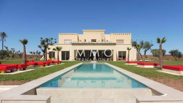 Achat villa Contemporain luxueuses Marrakech Extérieur Route Ouarzazate