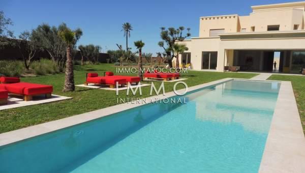 Achat villa Contemporain immobilier luxe à vendre marrakech Marrakech Extérieur Route Ouarzazate