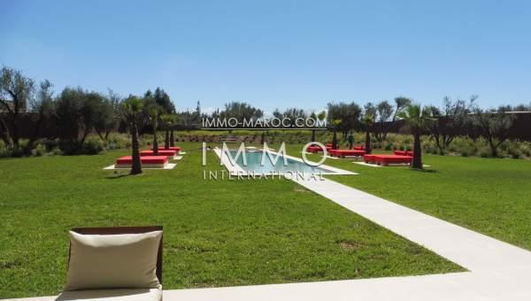 Vente maison Contemporain propriete luxe marrakech à vendre Marrakech Extérieur Route Ouarzazate