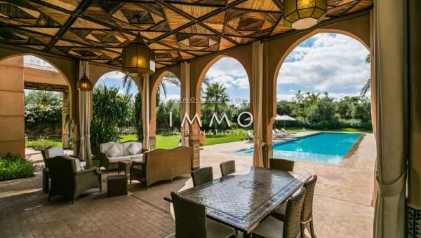 Maison à vendre Marocain propriete luxe marrakech à vendre Marrakech Extérieur Route Ouarzazate