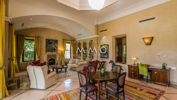 Vente maison Marocain luxe Marrakech Extérieur Route Ouarzazate