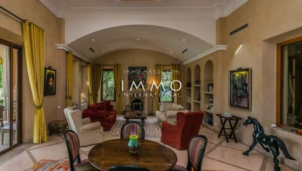 Villa à vendre Marocain prestige Marrakech Extérieur Route Ouarzazate