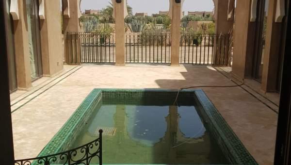 villa vente Accès voiture Marrakech Extérieur Route Fes