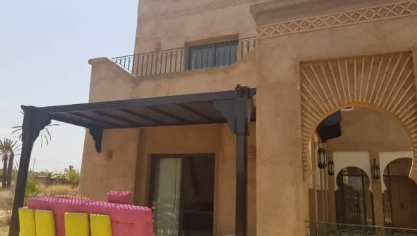 Achat villa garage Marrakech Extérieur Route Fes