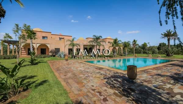 Achat villa Marocain luxueuses Marrakech Extérieur Ecole américaine