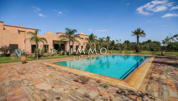 Vente maison Marocain immobilier luxe à vendre marrakech Marrakech Extérieur Ecole américaine