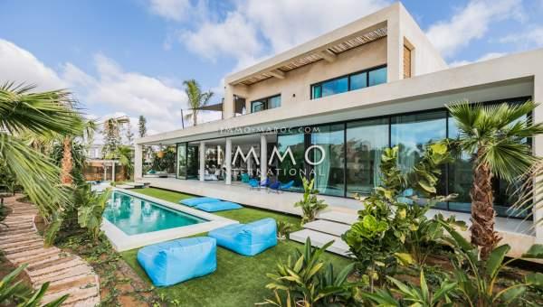 Vente villa Moderne de prestige Marrakech Golfs Amelkis