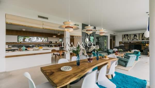 Achat villa Contemporain de prestige Marrakech Golfs Amelkis