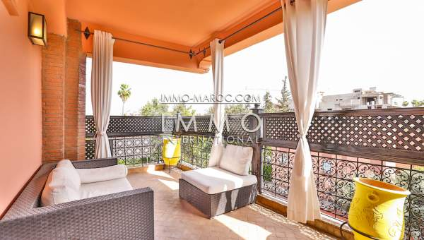 Achat appartement Contemporain prestige a vendre Marrakech Hivernage