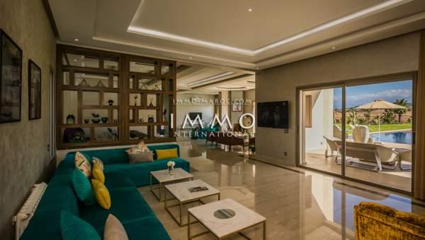 villa vente Contemporain Marrakech Extérieur Route Amizmiz