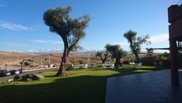 Vente terrain Terrain a lotir Marrakech Extérieur Route Amizmiz