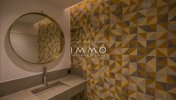 Vente appartement Contemporain Marrakech Centre ville Majorelle
