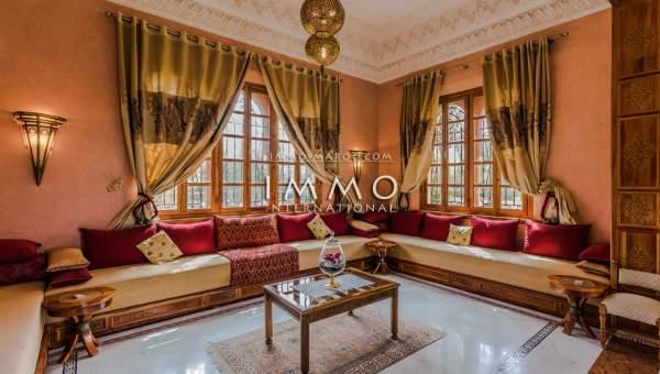 acheter maison Marocain épuré Marrakech Palmeraie Palmariva – Dar tounsi