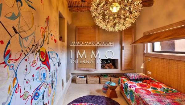 Vente maison Marocain épuré Marrakech Extérieur Route Amizmiz
