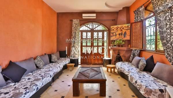 villa achat Marocain épuré Marrakech Extérieur Route Ouarzazate