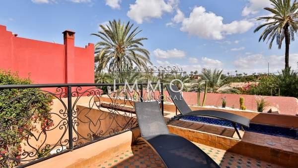 villa vente Marocain Marrakech Palmeraie