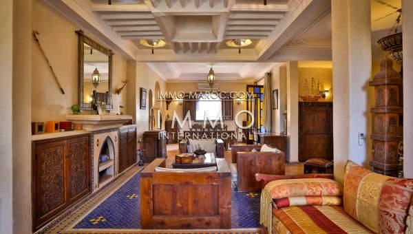 Villa à vendre Marocain épuré Marrakech Extérieur Route Ouarzazate