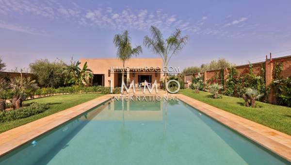 Villa d 39 architecte neuve 15 km de marrakech sur la route de ouarzazate immomaroc - Maison ouarzazate ...
