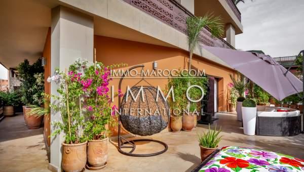 Vente maison Moderne Marrakech Centre ville Guéliz