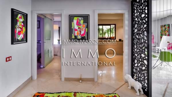 Villa à vendre Moderne Marrakech Centre ville Guéliz