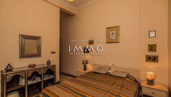 appartement vente Marocain épuré Marrakech