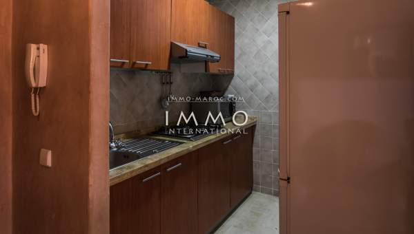 Achat appartement Marocain épuré Marrakech Hivernage