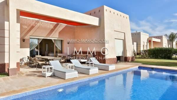 Vente villa Moderne Marrakech Extérieur Route Fes